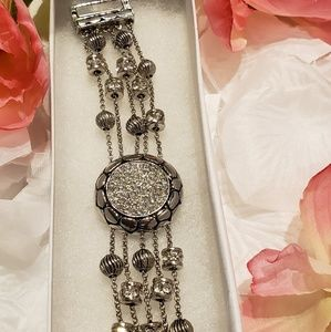 Beautiful Rhinestone Chain Bracelet
